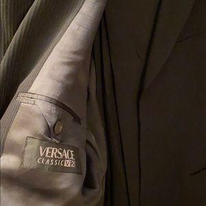 VERSACE black suit